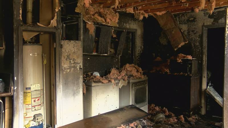Community helps Burkburnett family after house fire