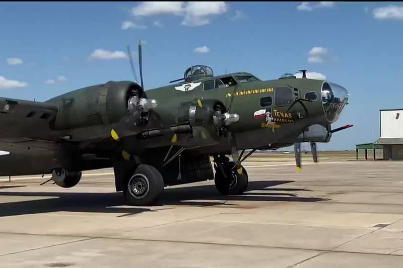 WWII Warbirds visiting Wichita Falls