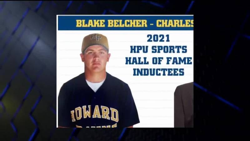 Blake Belcher inducted into Hall of Fame