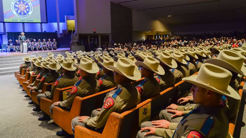 The 167th recruit class included recruits ranging from 21 to 50 years old.