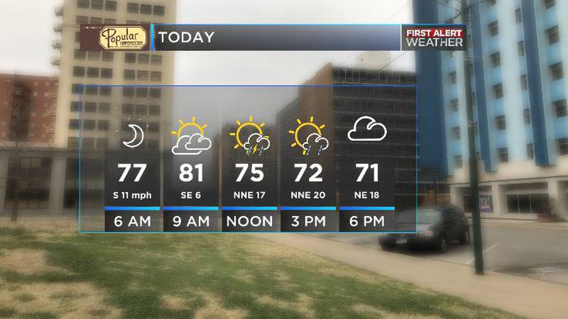 Enjoy the cooler temps today