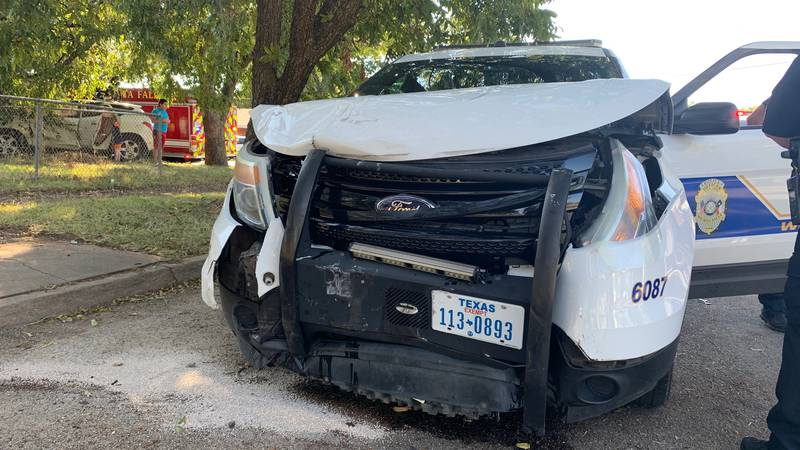 No injuries reported after WFPD officer involved in crash