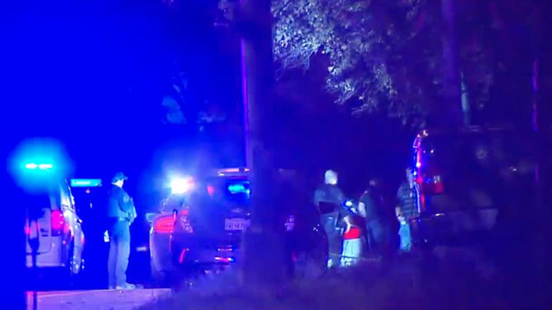 Fort Worth police are searching for several possible gang members who shot at each other from...