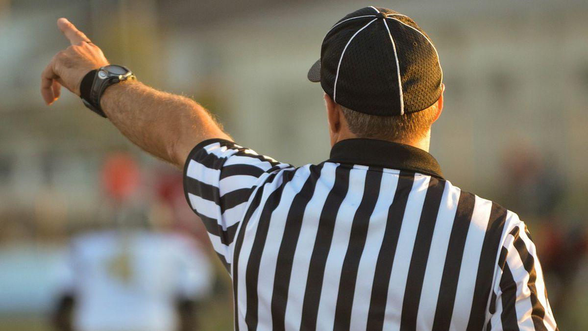 File photo of referee