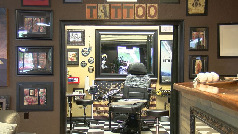 Human Canvas Tattoo Studio is preparing for a hopeful reopen.