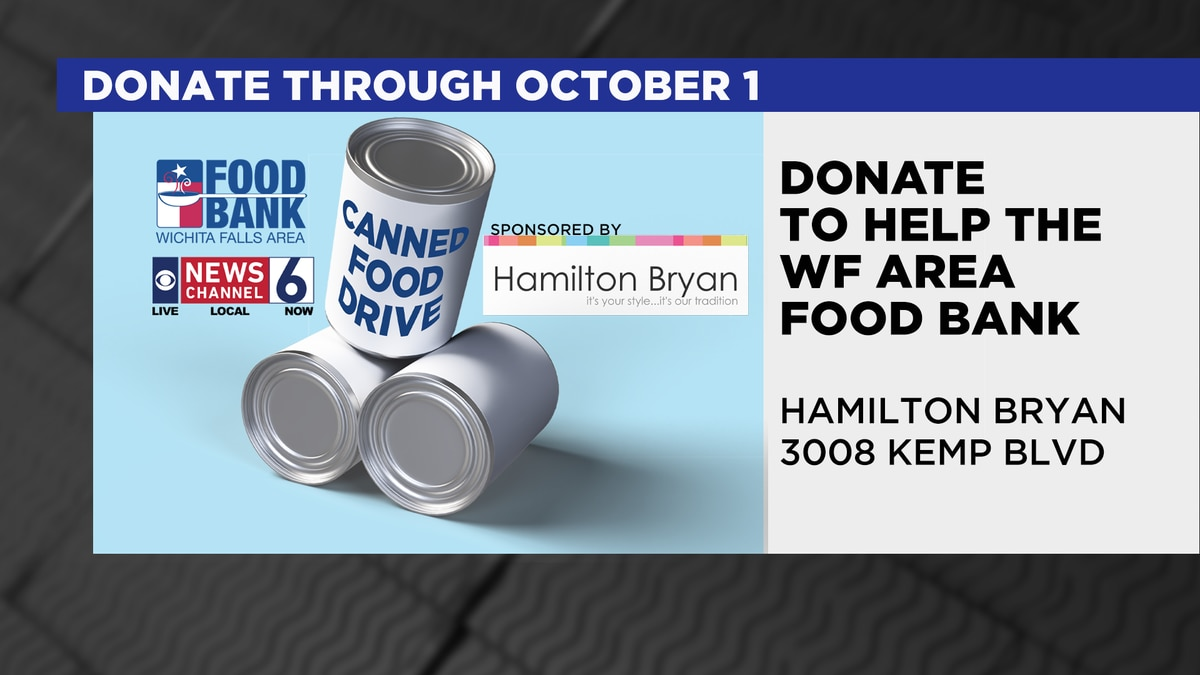 News Channel 6 partnering with WFAFB for canned food drive