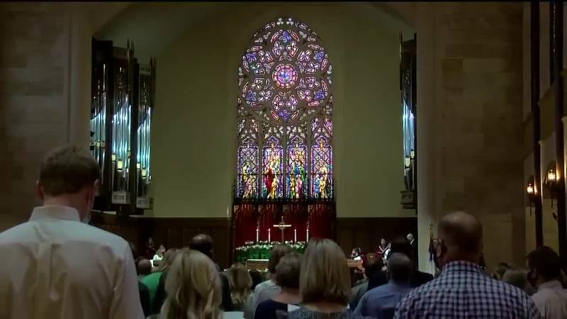 Churchgoers attendance is up for Easter