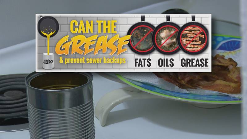 'Can the Grease' is the name given to the initiative to teach the community about the problems...