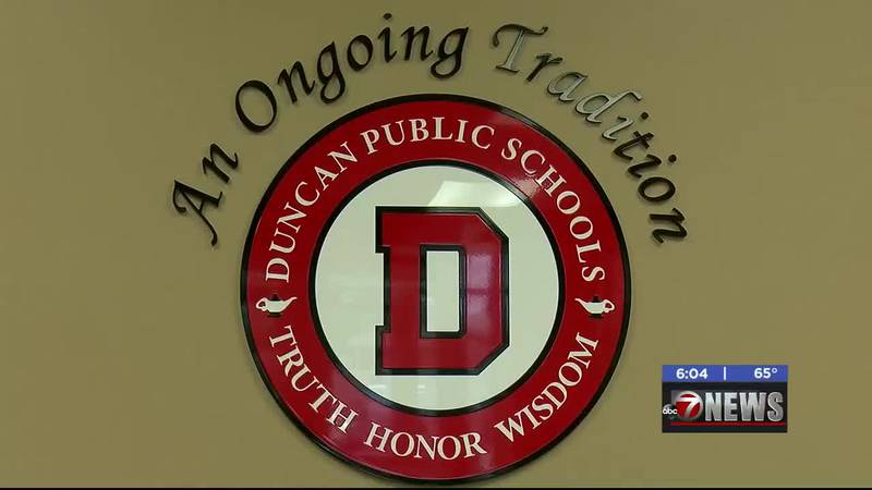 Duncan Public Schools is almost done with its distance learning model for students who will be...
