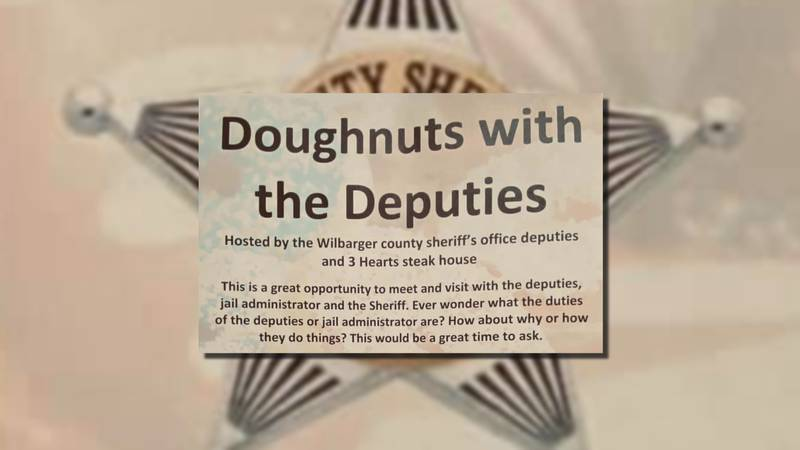 On Saturday, Feb. 15 the Wilbarger County Sheriff's Office is holding a Doughnuts with the...