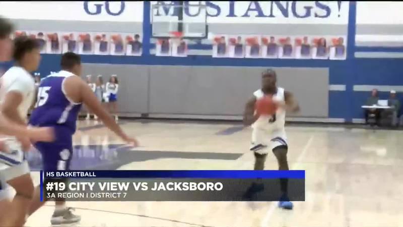 #19 City View vs Jacksboro boys basketball highlights
