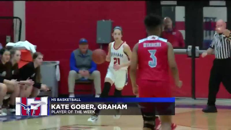 KATE GOBER PLAYER OF THE WEEK