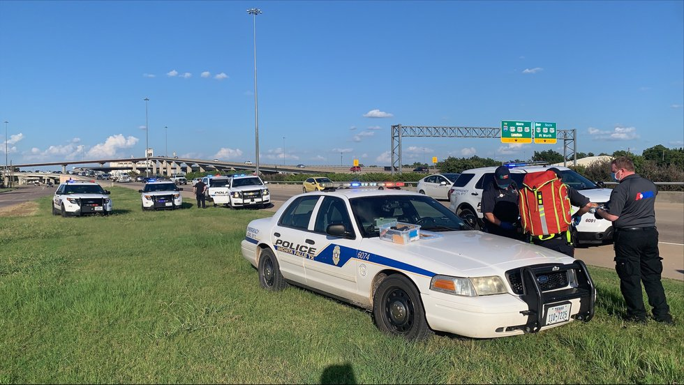 WFPD arrests three after car chase