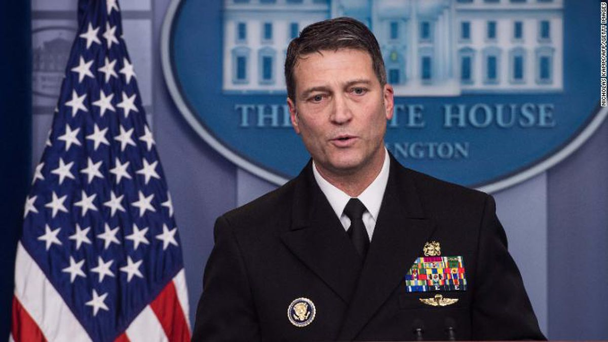 With just hours to spare, Ronny Jackson was able to get the paperwork filed in time for his...