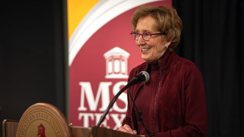 During the most recent Board of Regents meeting, she notified the board that she intends to...