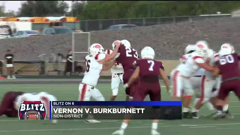 Vernon vs Burkburnett football highlights
