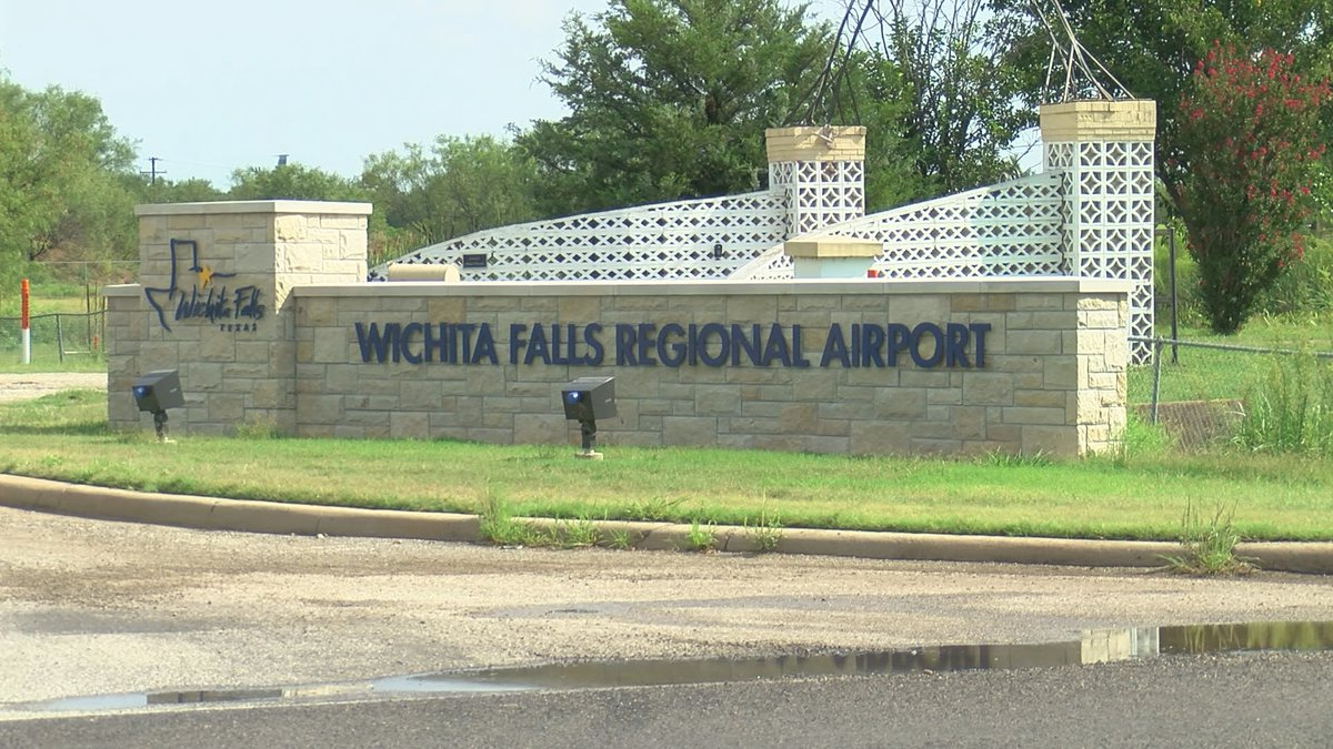 Wichita Falls Regional Airport main drive will be under construction soon.