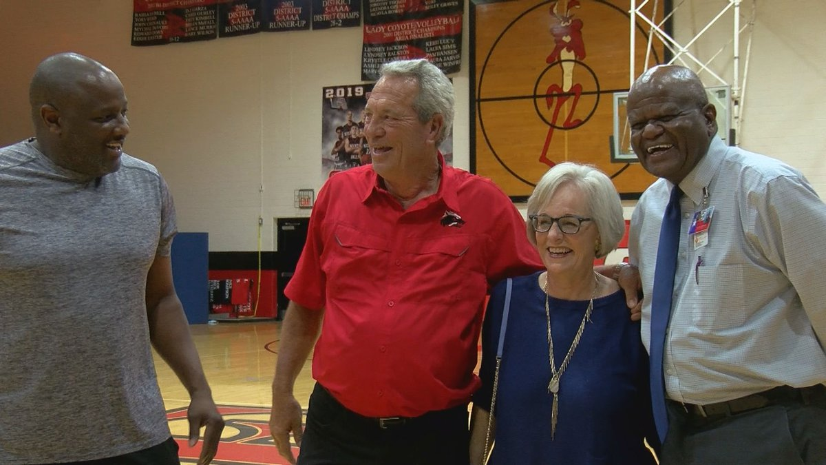He spent his entire life on the Wichita Falls High School basketball court, first as a player...