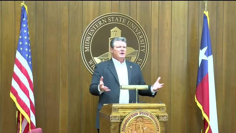 Texas Tech Chancellor visits MSU Texas