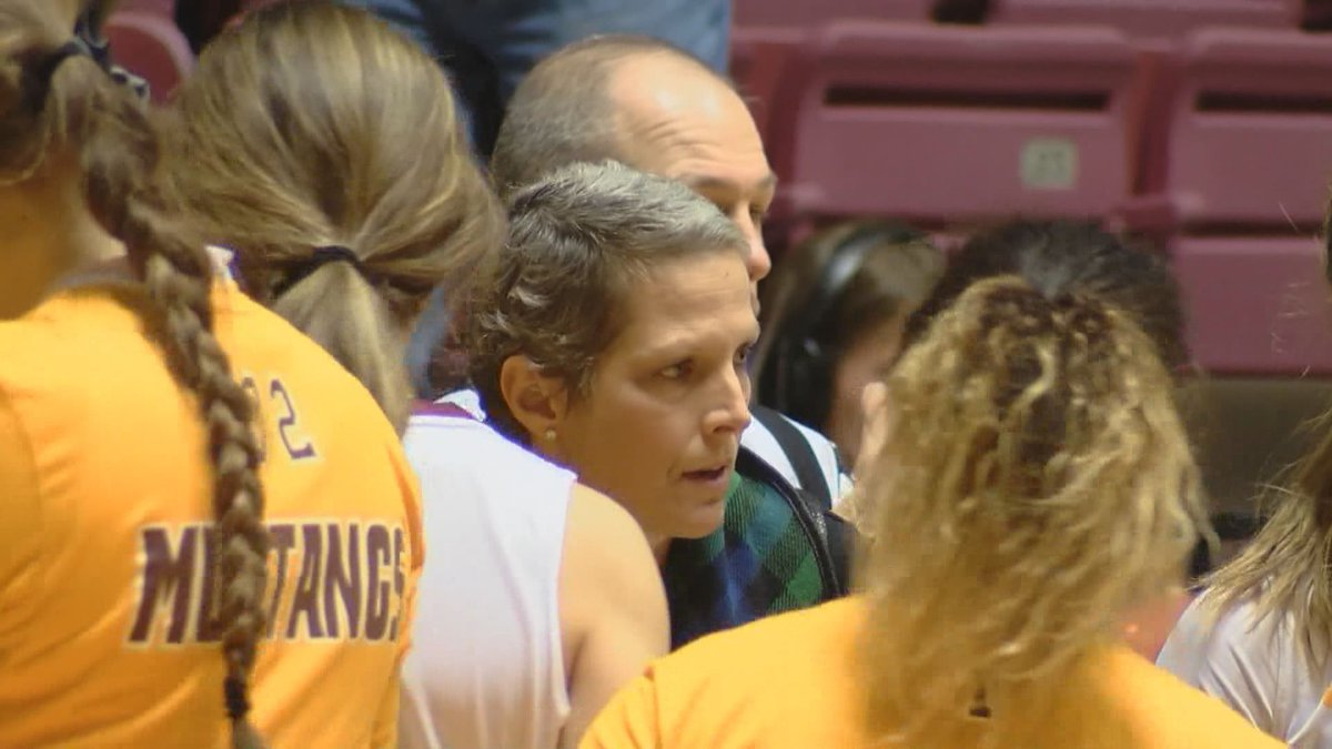 MSU's Noel Johnson will step away from the team for the first time in her 12 year career with...