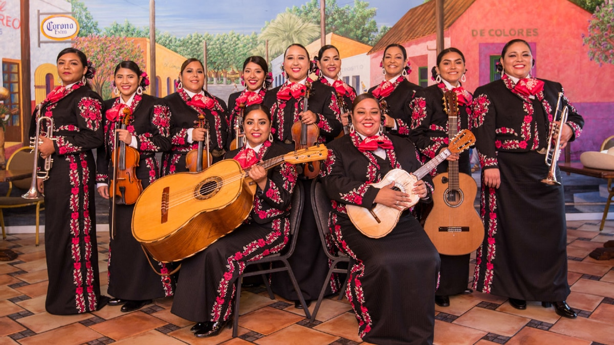 The all-female mariachi group will be performing at the Forum on Sept. 16.