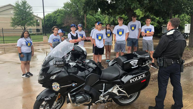 WFPD Junior Police Academy holds first class