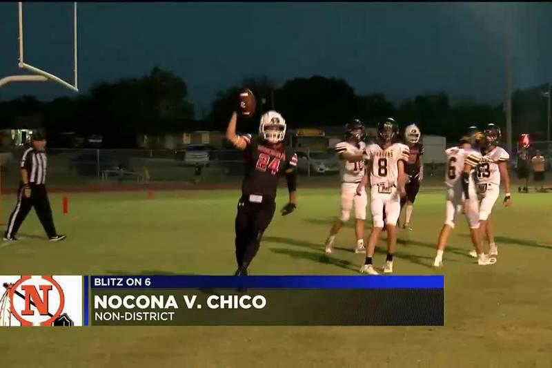 Nocona vs Chico football highlights