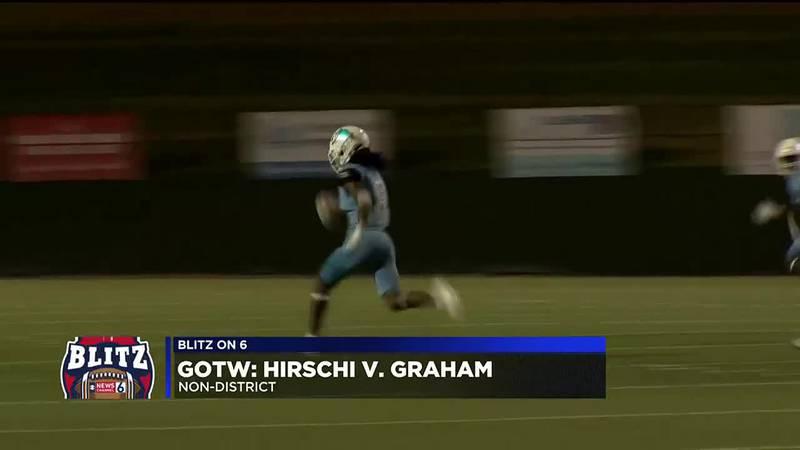 GOTW: Hirschi vs Graham football highlights