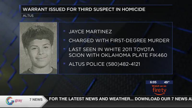 he Altus Police Department has released more information about a murder suspect from...