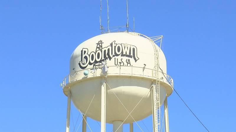 One of Burkburnett's water towers.