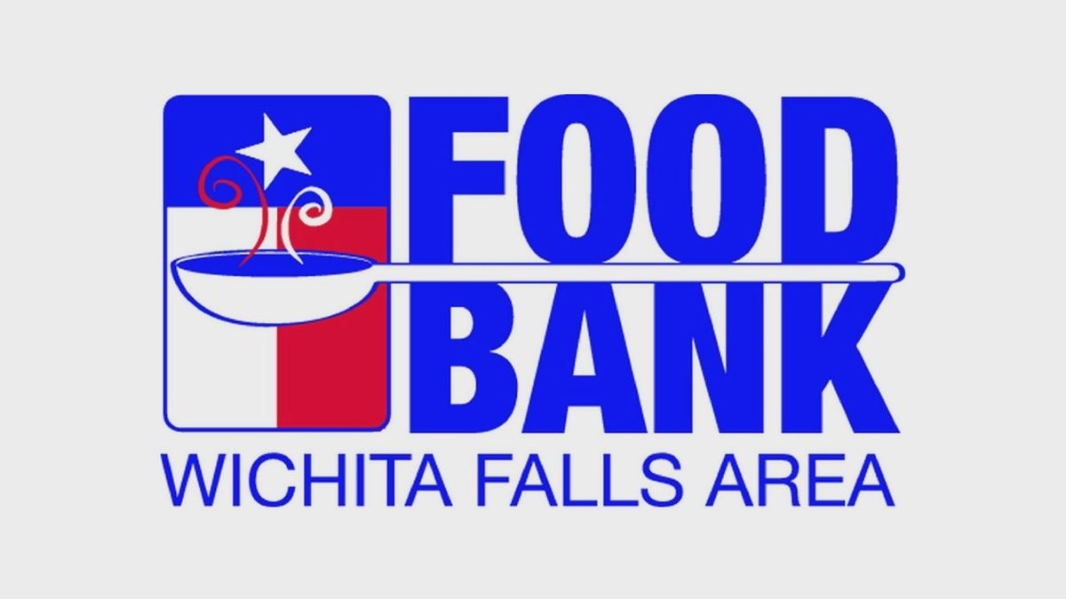 The food bank is located at 1230 Midwestern Parkway.