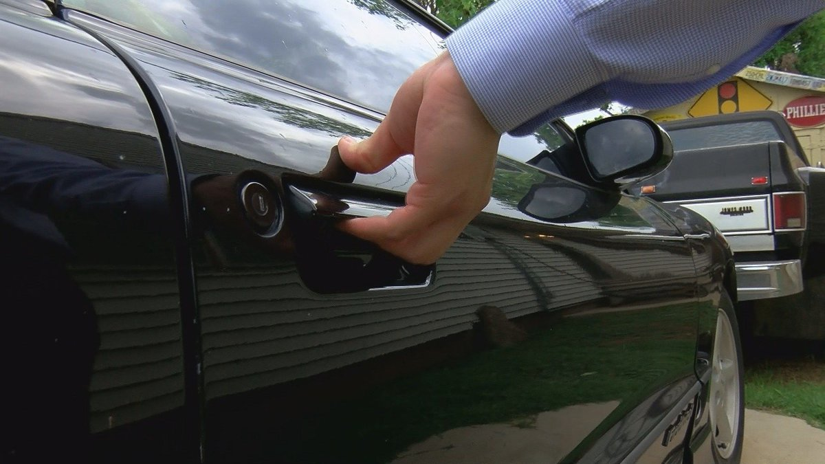 WFPD say 24 cars have been broken into and seven handguns were stolen.
