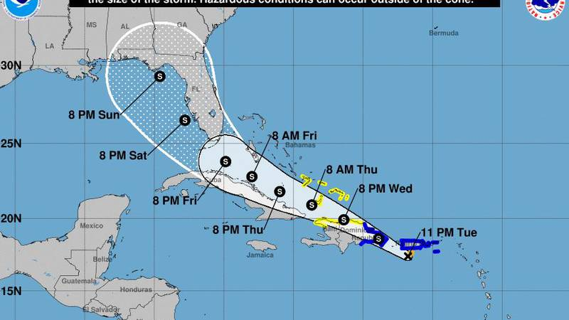 Heavy rains are pelting the northern Caribbean as Tropical Storm Fred has formed just south of...