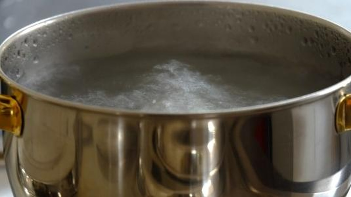 City officials said the boil order was issued due to a drop in water pressure.