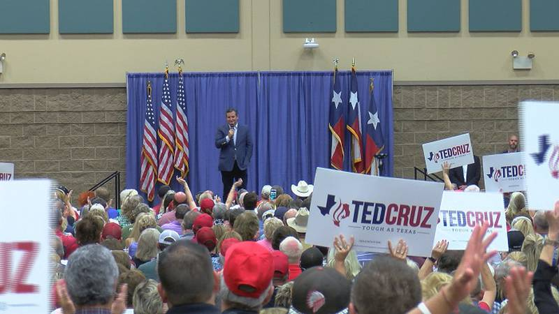 The Ted Cruz rally sold out on Wednesday.