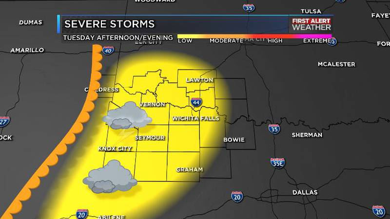 Storms possible tonight