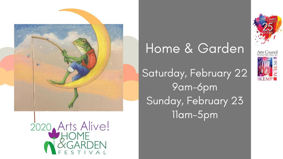 Arts Alive! Home & Garden Festival is a gathering of businesses from the region, member...