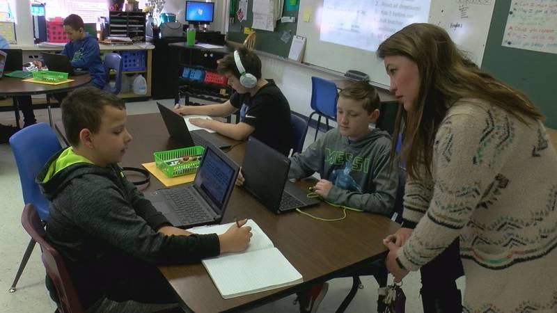 Wichita Falls ISD school teachers and students showcased to district administrators, community...