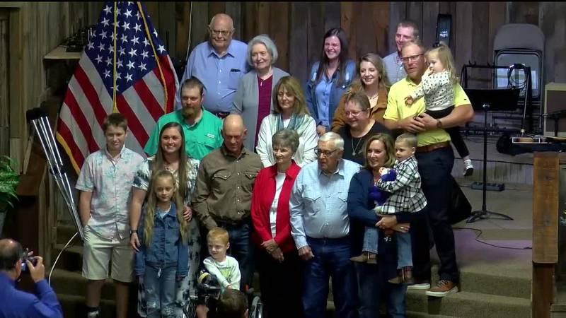 Church members celebrate Pastor Ron's retirement