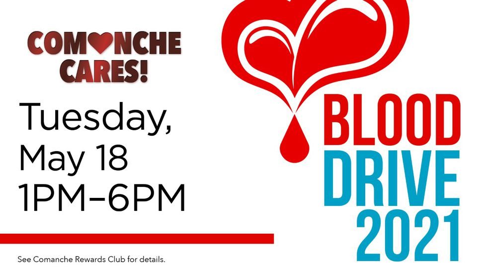 Comanche Nation Casino hosting blood drive