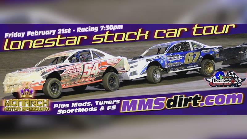 It's Race Week at Monarch Motor Speedway and that means they're featuring the Lonestar Stock...