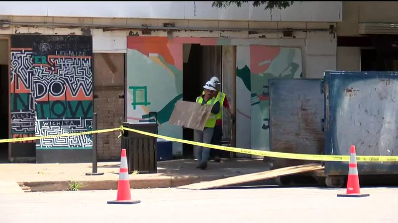 Downtown Wichita Falls will continue to see upgrades as the old and rundown building at 713...