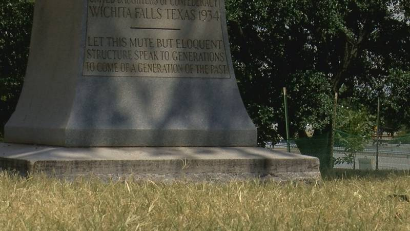monument will stay for the time being