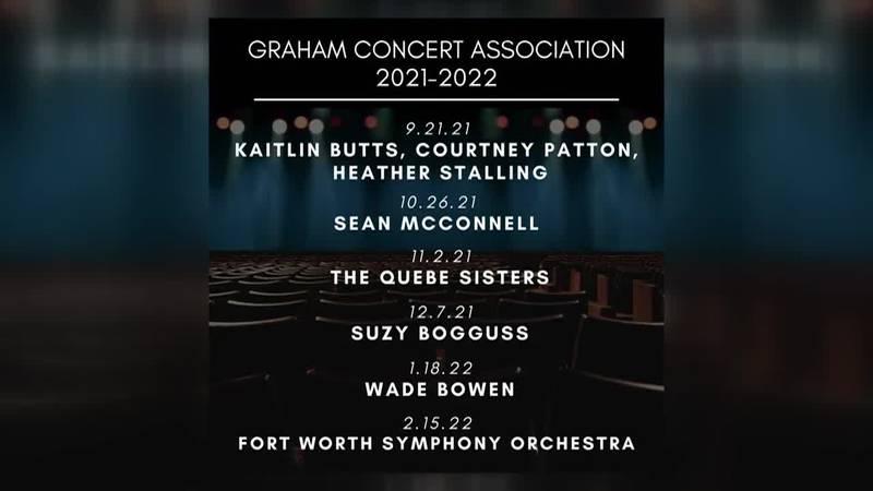 Graham Concert Association - 2021-2022 Season Lineup