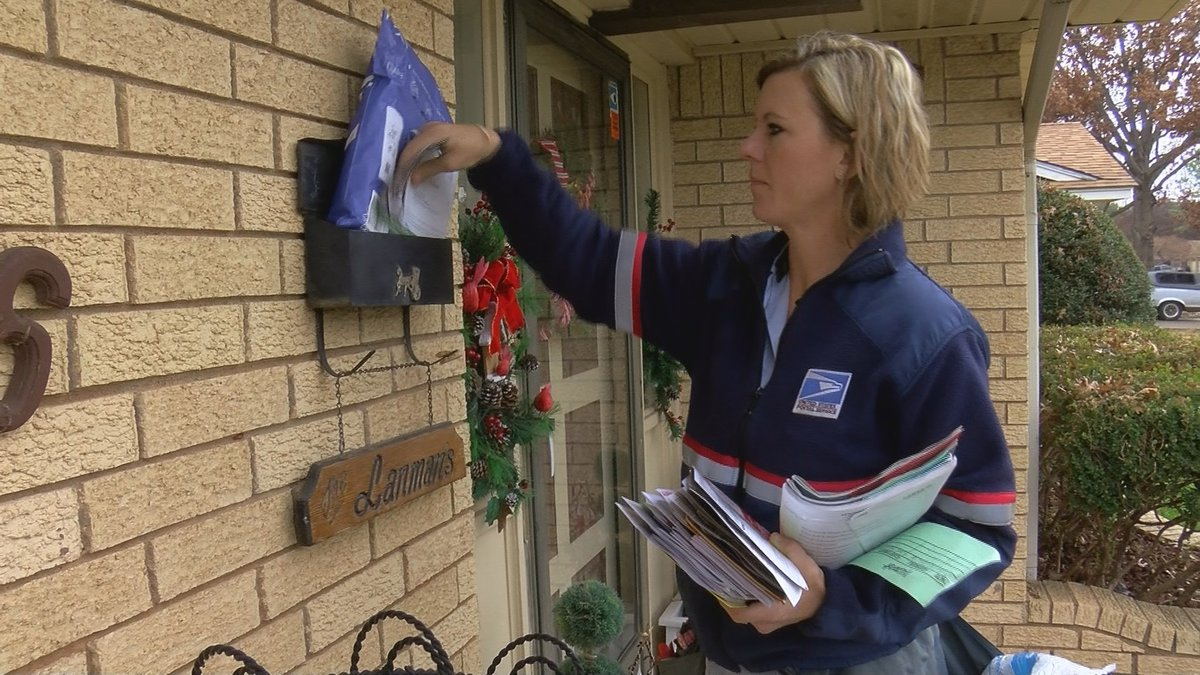 USPS mail carriers are working overtime to deliver packages and mail on time for the holidays.