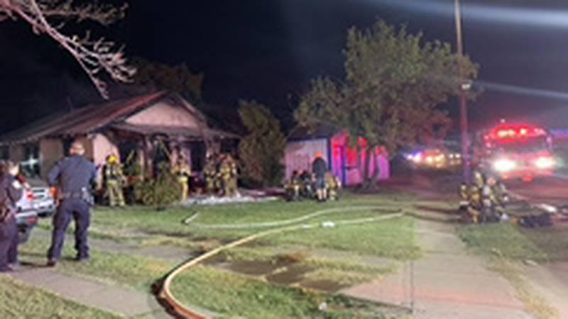 Man dies in fire in home on Kell Blvd. in Wichita Falls.