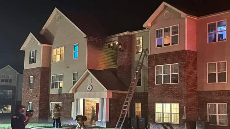 Crews were called out to a fire early Friday morning.