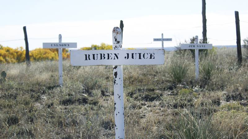Inhabitants of Boothill Cemetery had to die with boots on to be buried there. Ruben Juice was a...