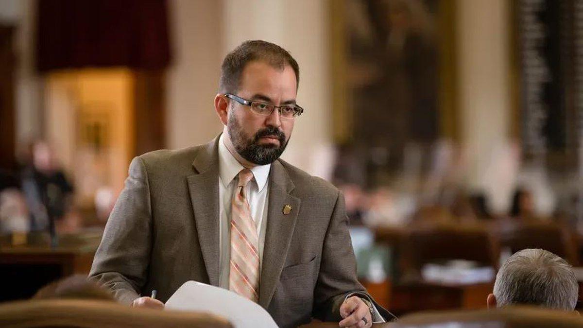 El Paso Democrat Joe Moody was stripped of his title as speaker pro tem after breaking quorum...