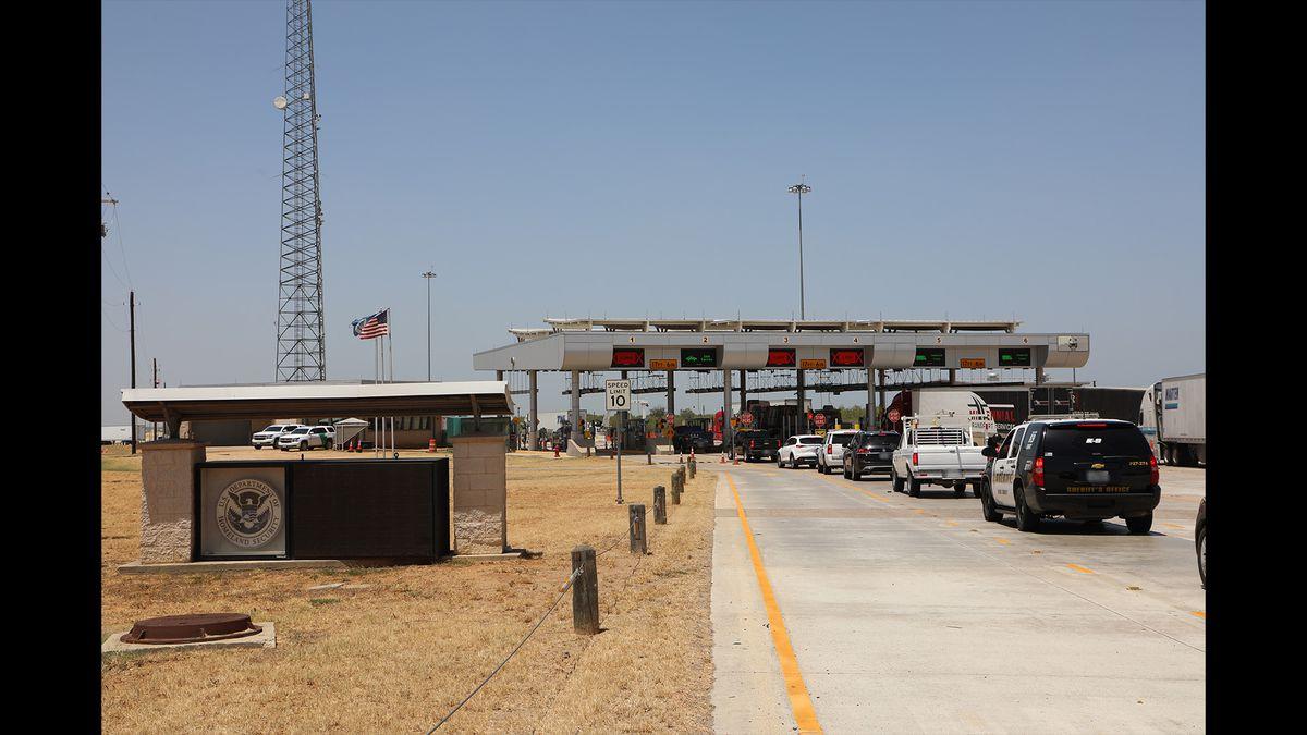 Missing Odessa girl found at Border Patrol checkpoint (Source: US Border Patrol Laredo Sector)